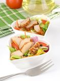 Chicken Salad in a Bowl Stock Photos