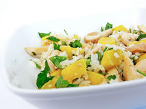 Chicken salad - close up Royalty Free Stock Photography