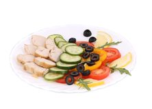 Chicken salad. Royalty Free Stock Image