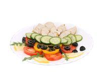 Chicken salad. Stock Photos