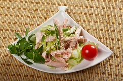 Chicken salad Neapolitano Stock Image