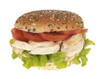 Chicken Salad Roll Stock Photo