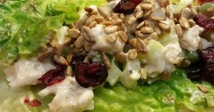 Chicken Salad on Romaine Lettuce Stock Photos