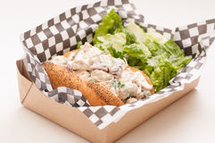chicken salad sandwich with caesar Royalty Free Stock Photography