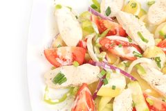 Free Chicken Salad With Potatoes. Stock Photos - 40920303