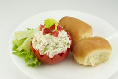 Chicken Salad With Tomato Royalty Free Stock Images