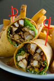 Chicken salad wrap Stock Image