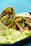 Chicken salad wraps Royalty Free Stock Photography