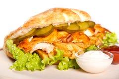 Chicken sandwich Stock Photography