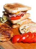 Chicken Sandwich Royalty Free Stock Photos