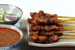 Chicken Satay Stock Images