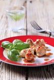 Chicken satay Royalty Free Stock Photo
