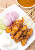 Chicken Satay Stock Image