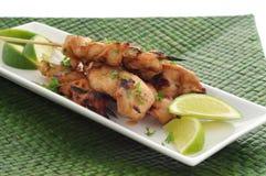 Chicken Satay Royalty Free Stock Photos
