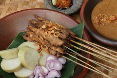 Chicken Satay from Blora Royalty Free Stock Images
