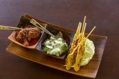 Chicken Satay Royalty Free Stock Image
