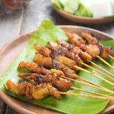 Chicken sate Stock Photo