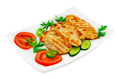 Chicken schnitzel Royalty Free Stock Photo