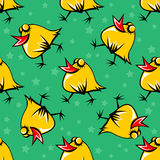 Chicken seamless pattern Royalty Free Stock Photography