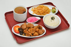Chicken set menu Stock Photography