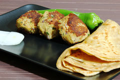 Chicken Shami Kebab Royalty Free Stock Images
