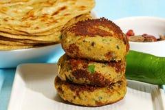 Chicken Shami Kebab Stock Photography