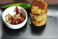 Chicken Shami Kebab Stock Photo