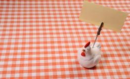 Chicken memo holder Stock Image