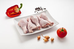 Chicken shin Royalty Free Stock Images