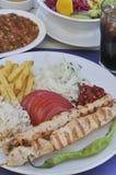 Chicken shish kebab Stock Photo