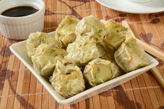 Chicken shu mai Stock Images