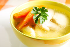 Free Chicken Soup Royalty Free Stock Photo - 19320665