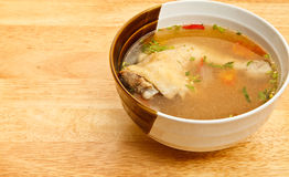 Chicken soup. For meal times Royalty Free Stock Photos