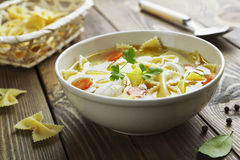 Free Chicken Soup Stock Photo - 36131170
