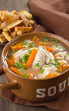 Chicken soup Royalty Free Stock Images