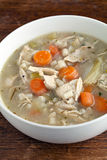 Chicken Soup Bowl Stock Image