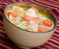 Chicken Soup - Caribbean Style Royalty Free Stock Image