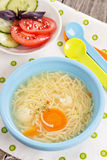 Chicken soup for children Royalty Free Stock Photos