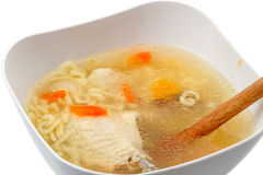 Chicken soup Stock Image