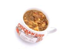 Chicken Soup in Mug Stock Photos