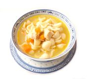 Chicken soup with noodles Royalty Free Stock Image