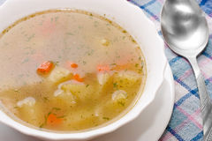 Chicken soup Stock Images