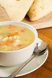 Chicken Soup with Pasta Royalty Free Stock Images