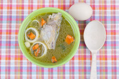 Chicken soup. Royalty Free Stock Images
