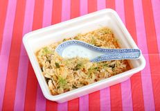 Chicken soup with rice Royalty Free Stock Photo
