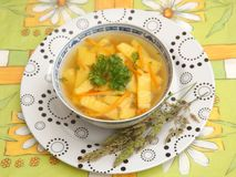 Chicken soup Royalty Free Stock Image