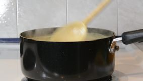 Chicken soup stock video footage