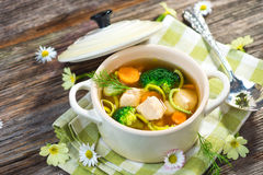 Chicken Soup Stock Photos