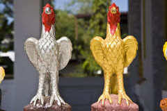 Chicken statue Stock Photo