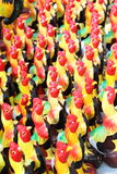Chicken statue Stock Photography